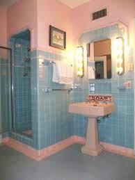 blue bathroom tile vintage bathrooms