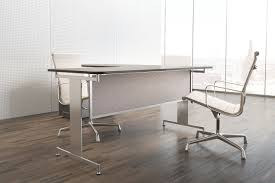 desk table mounted modesty panels
