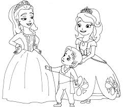 Sofia The First Colouring In The First Colouring Colouring Pages