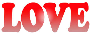 Red Gradient LOVE Word Free Stock Photo - Public Domain Pictures