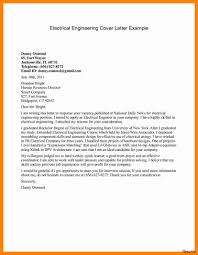 Resume Cover Letter Engineering Network Engineer Cover Letter Sample Electrical Engineering In 37