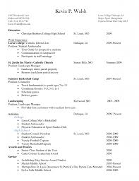 College Freshman Resume Example - Prepasaintdenis.com
