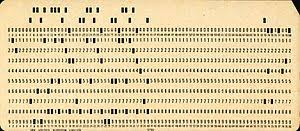 Discount Punch Card Punched Card Wikipedia