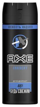 <b>Дезодорант спрей Axe Anarchy</b> — купить по выгодной цене на ...