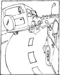 Small Picture Road Coloring Page Coloring Coloring Pages