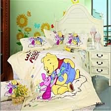 light yellow classic winnie pooh bedding baby comforter sets baby bedding sets twin queen size whole bedding sets queen bedding ensembles from