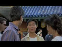GAYEST SCENE EVER in the HISTORY of Films. (The Karate Kid part II ...