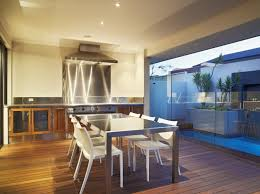 modern kitchen dining sets. view in gallery stainless steel dining table a modern kitchen sets l