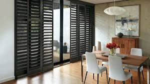 glass door window treatment shutters on sliding glass doors hybrid shutters and other window treatment half