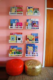 ikea e rack to hold kids books