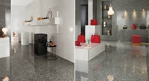 surfaces inspired by venetian terrazzo for modern architecture
