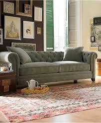 Macys Living Room Furniture Martha Stewart Collection Saybridge Fabric Sofa Custom Colors