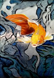 Koi Fish wallpaper for bringing beauty to your home's walls. oooh...what