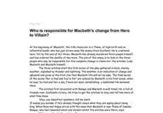 villain essay  in this hub i compare macbeth the villain and macbeth the victim or tragic hero to learn more about amazon sponsored products click here a villain is an