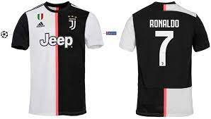 Juventus Turin Trikot Kinder 2019-2020 Home UCL Ronaldo 7 : Amazon.de:  Sport & Freizeit