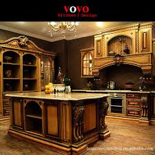 american style luxury kitchen cabinets solid wood in matte cherry colorin kitchen cabinets from home improvement on aliexpresscom alibaba group a64
