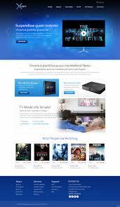 Web Designers Dublin Ireland Elegant Playful Tv Web Design For Xunity By Pb Design