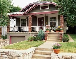 ... Brick Craftsman Style House ...