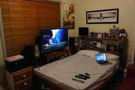 Gaming Bedroom Setup Ideas Best Bedroom Setup Photos And Video Com Bedroom  Colors Blue . Gaming Bedroom Setup Ideas ...