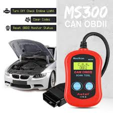 Reset Check Engine Light 2003 Ford Ranger Autel Ms300 Maxiscan Obd2 Code Reader Scanner Turn Off Engine Light Read Erase Fault Codes Check Emission Monitor Status