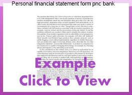 Personal Financial Statement Form Pnc Bank Research Paper Help