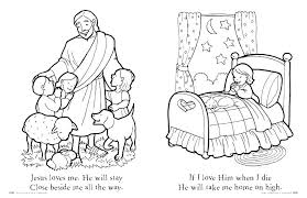 Jesus Coloring Page Printable The Birth Of Free Printable Coloring
