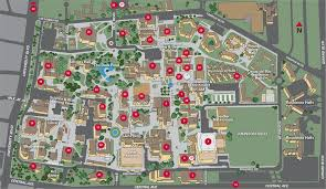 campus map  unm online visitor's guide