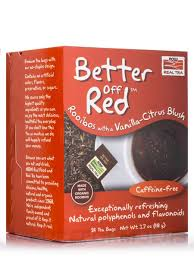 NOW® <b>Real Tea</b> - <b>Better Off</b> Red Tea Bags - Box of 24 Packets