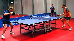 Виды спортивных игр Настольный теннис