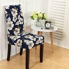 elegant flower landscape elastic stretch chair seat cover puter dining room home wedding decor