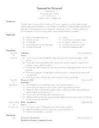 Resume For Food Server Resume Objective Examples For Administrative Assistant Job Resume