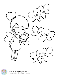 Tooth coloring pages coloring pages dental coloring pages printable picture. Tooth Fairy Coloring Pages Free Download