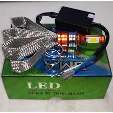 BMA Led cao cấp - Bóng đèn Led xe máy chân M5 - Sử dụng 12v điện máy AC và  điện bình DC