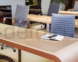 <b>Защитная накладка</b> для <b>стола</b>, поликарбонат 100x60x0,1, цвет ...