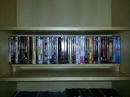 Space Saving Dvd Storage Billy Bookshelf Dvd Shelves Ikea Hackers Ikea Hackers
