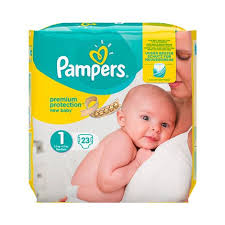Pampers Premium Protection Nappies New Baby Size 1