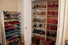 nice simple ideas shoe rack for small closet 22 diy storage spaces diy diy closet shoe storage photos
