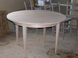 cherry shaker 4 leg round table