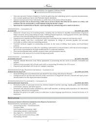 Sample Senior Accountant Resume Accountant Resume Samples Download