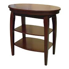 Shop ORE International Cherry End Table at Lowes.com