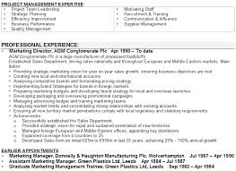 marketing manager cv sampleorder the above marketing managers     cv template now
