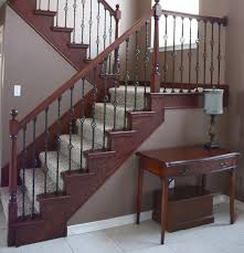 Stair Lift For Split Foyer Staircase Makeoverbefore and Af on Stair Install  Foyer Painted Pine Stairs