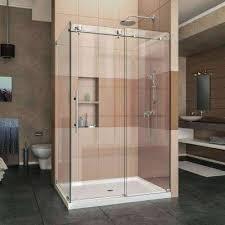 modern shower doors glass door in showers the home depot design frameless sliding