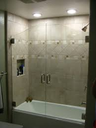 shower design appealing exciting shower enclosure bathroom seton tub doors home bathtub with along large image also style on frameless depot glass wall