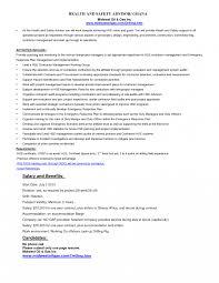 Resume Cover Letter Visual Merchandising Sample Safety Officer Job