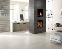 Indoor tile floor porcelain stoneware polished URBAN CONCRETE