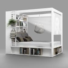 4You Four Poster Bed packed with storage … | A home | Pinte…