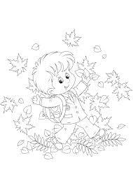 Kleurplaat Herfst Download De Allerleukste Kleurplaten Herfst