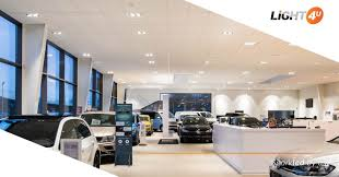 Dealership Showroom Design Showroom Lighting Vw Dealer Denmark Light4u Light4u