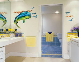 Eclectic Big Fish Decal For Bathroom Wall Decoration Paired With ...